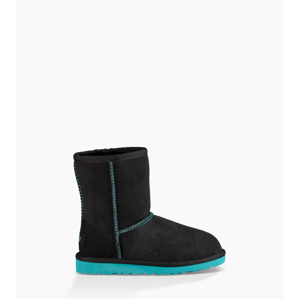 CHEAP UGG TODDLERS CLASSIC BLACK / ACAPULCO ONLINE