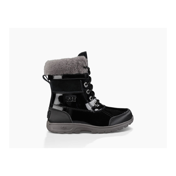 CHEAP UGG KIDS' BUTTE II PATENT BLACK ONLINE