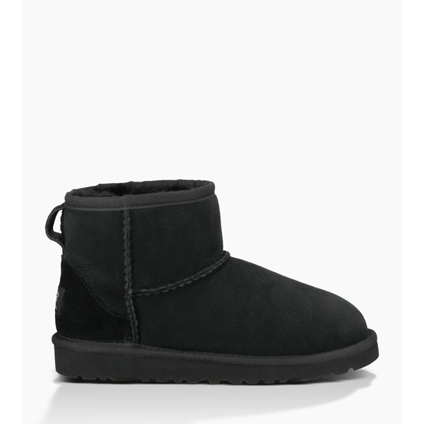 CHEAP UGG YOUTH CLASSIC MINI BLACK ONLINE