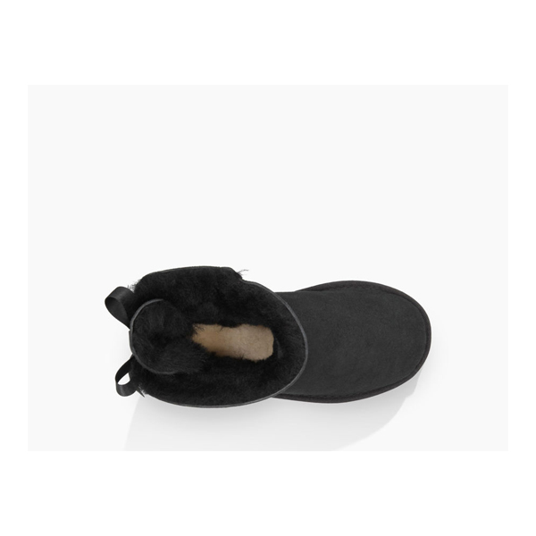 CHEAP UGG TODDLERS MINI BAILEY BOW BLACK ONLINE