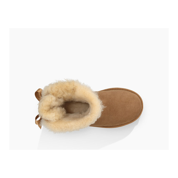 CHEAP UGG TODDLERS MINI BAILEY BOW CHESTNUT ONLINE