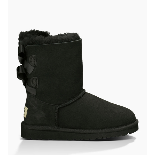 CHEAP UGG TODDLERS BAILEY BOW BLACK ONLINE