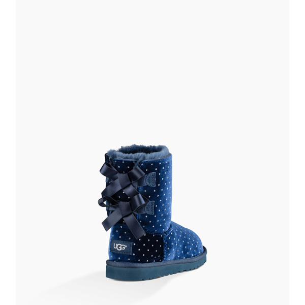 CHEAP UGG YOUTH BAILEY BOW STARLIGHT NAVY ONLINE
