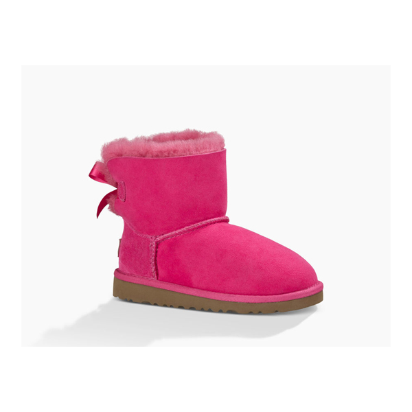 CHEAP UGG YOUTH MINI BAILEY BOW CERISE ONLINE