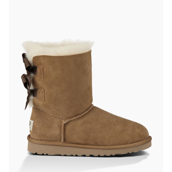 CHEAP UGG YOUTH BAILEY BOW CHESTNUT ONLINE