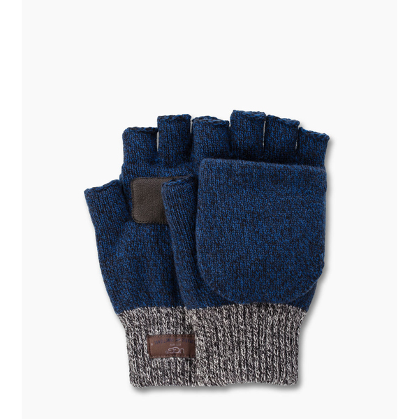 CHEAP UGG MEN'S MARLED FLIP MITTEN NAVY M ONLINE