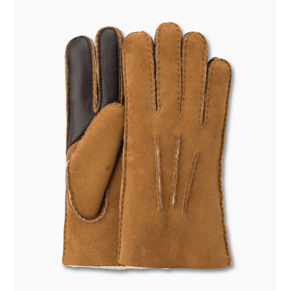 CHEAP UGG MEN\'S SHEEPSKIN SMART GLOVE CHESTNUT ONLINE