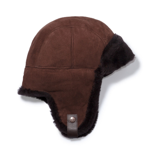 CHEAP UGG MEN'S SHEEPSKIN TRAPPER CHOCOLATE ONLINE