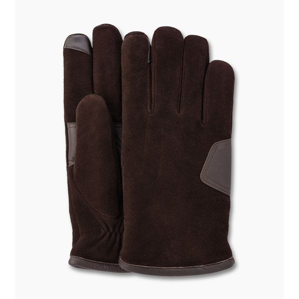 CHEAP UGG MEN'S SUEDE SMART GLOVE BROWN ONLINE