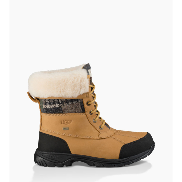 CHEAP UGG MEN\'S BUTTE PATCHWORK WHEAT ONLINE