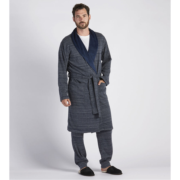 CHEAP UGG MEN'S ROBINSON ROBE NAVY HEATHER ONLINE