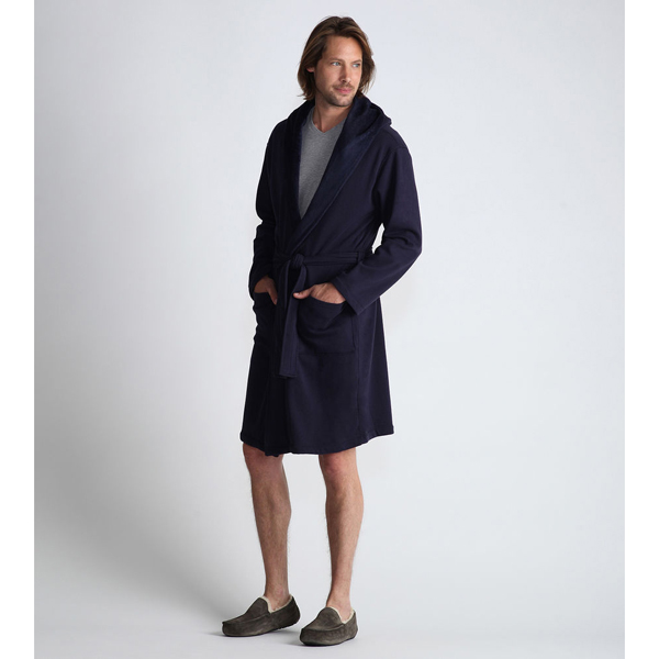 CHEAP UGG MEN'S ALSTEN ROBE NAVY ONLINE