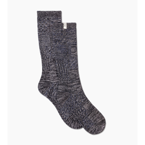 CHEAP UGG MEN'S PATCHWORK CREW SOCK NAVY PATCHWORK ONLINE