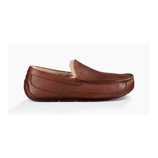 CHEAP UGG MEN'S ASCOT SCOTCH GRAIN COGNAC ONLINE