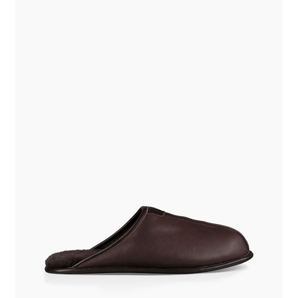 CHEAP UGG MEN'S THAYNE LEATHER CHOCOLATE ONLINE