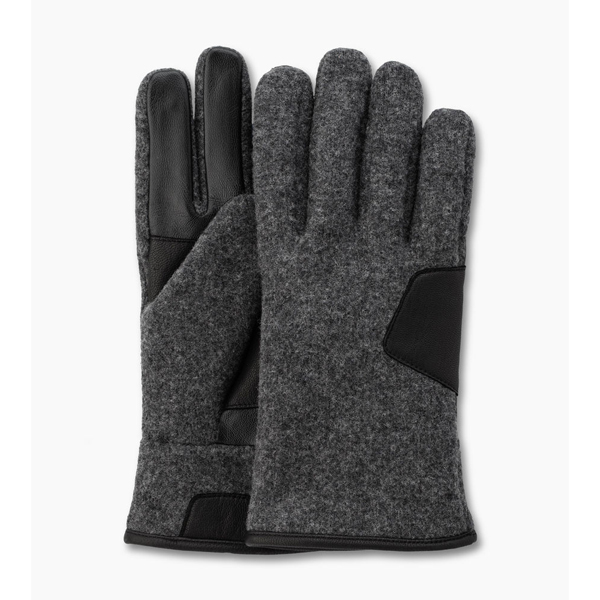 CHEAP UGG MEN\'S FABRIC SMART GLOVE CHARCOAL ONLINE