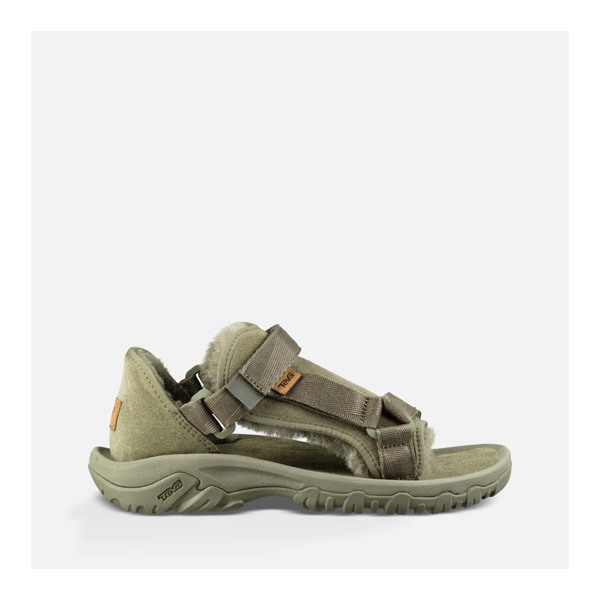 CHEAP UGG MEN'S UGG/TEVA SANDAL BURNT OLIVE ONLINE