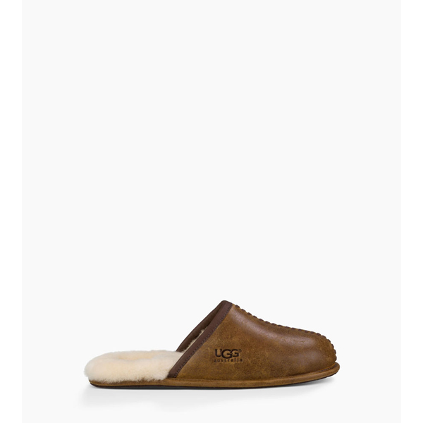 CHEAP UGG MEN\'S SCUFF DECO CHESTNUT ONLINE