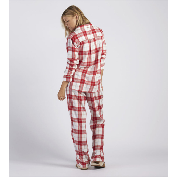 CHEAP UGG WOMEN\'S RAVEN PLAID PAJAMA SET LIPSTICK RED ONLINE