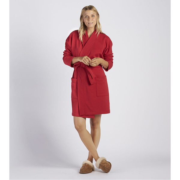 CHEAP UGG WOMEN'S BRAELYN ROBE LIPSTICK RED ONLINE