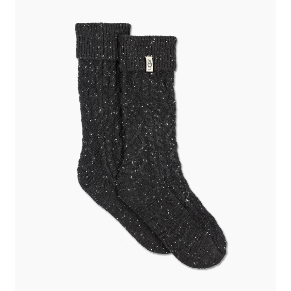 CHEAP UGG WOMEN\'S SHAYE TALL RAIN BOOT SOCK BLACK ONLINE