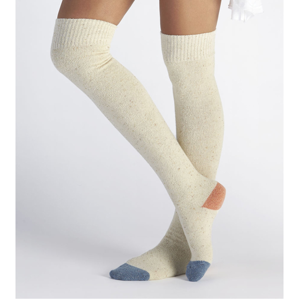 CHEAP UGG WOMEN'S COLOR BLOCKED RIB OVER THE KNEE SOCK  FRESHWATER PEARL ONLINE