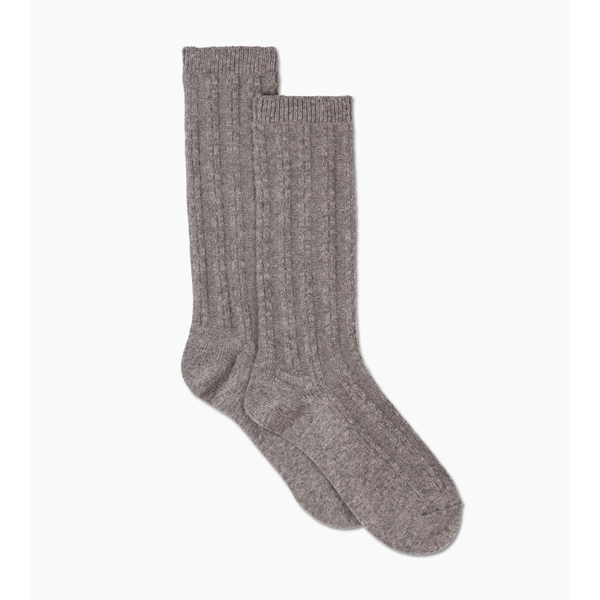 CHEAP UGG WOMEN\'S CASHMERE SLOUCHY CREW SOCK BLACK ONLINE