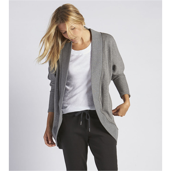 CHEAP UGG WOMEN'S FREMONT CARDIGAN CHARCOAL HEATHER ONLINE