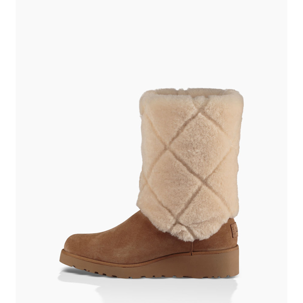 CHEAP UGG WOMEN\'S ARIELLA LUXE DIAMOND CHESTNUT ONLINE