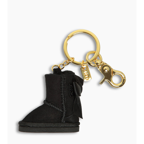 CHEAP UGG WOMEN'S BAILEY BOW BOOT CHARM BLACK ONLINE