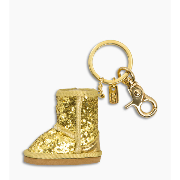 CHEAP UGG WOMEN'S GLITTER BOOT CHARM GOLD ONLINE