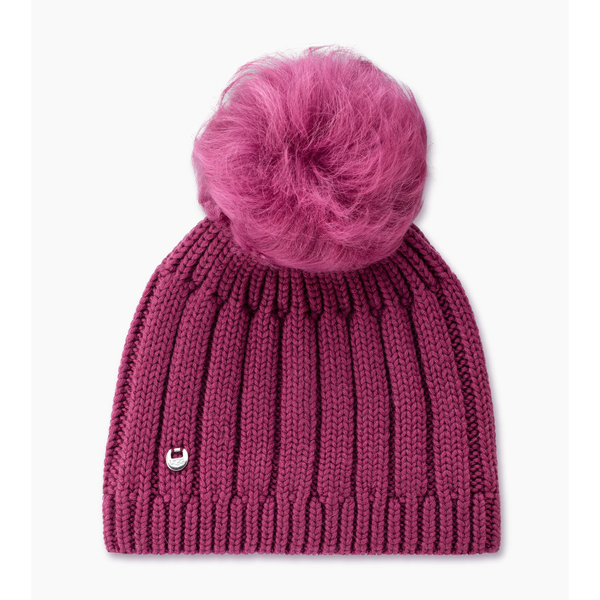 CHEAP UGG WOMEN\'S SOLID RIBBED BEANIE BOUGAINVILLEA M ONLINE
