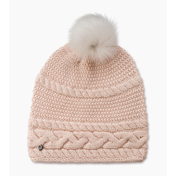CHEAP UGG WOMEN'S CABLE OVERSIZED BEANIE FRESHWATER PEARL M ONLINE