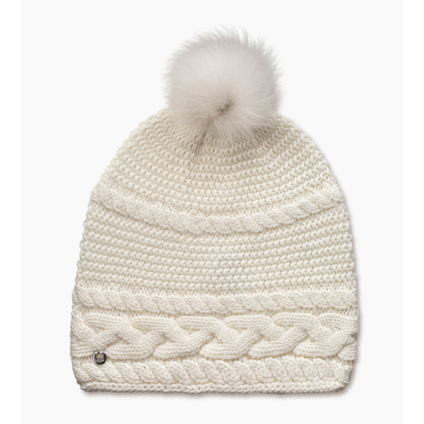 CHEAP UGG WOMEN\'S CABLE OVERSIZED BEANIE IVORY M ONLINE