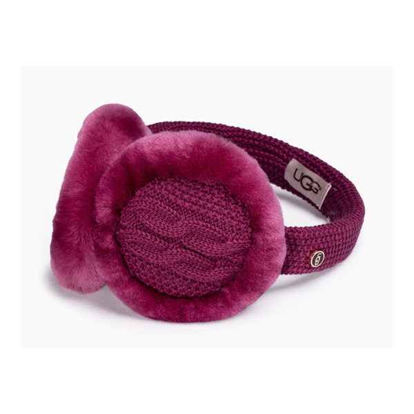 CHEAP UGG WOMEN'S WIRED CABLE EARMUFF BOUGAINVILLEA M ONLINE