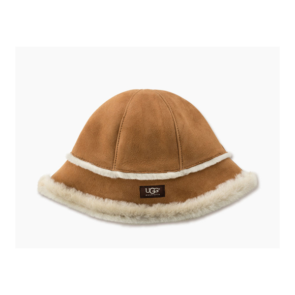 CHEAP UGG WOMEN\'S SHEEPSKIN CLOCHE CHESTNUT ONLINE