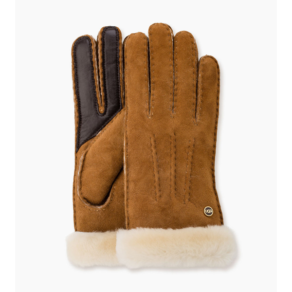 CHEAP UGG WOMEN\'S CARTER SMART GLOVE CHESTNUT ONLINE