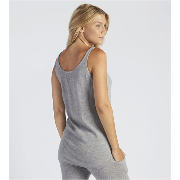 CHEAP UGG WOMEN\'S MADELYN CASHMERE TANK TOP GREY HEATHER ONLINE