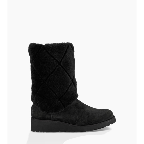 CHEAP UGG WOMEN'S ARIELLA LUXE DIAMOND BLACK ONLINE
