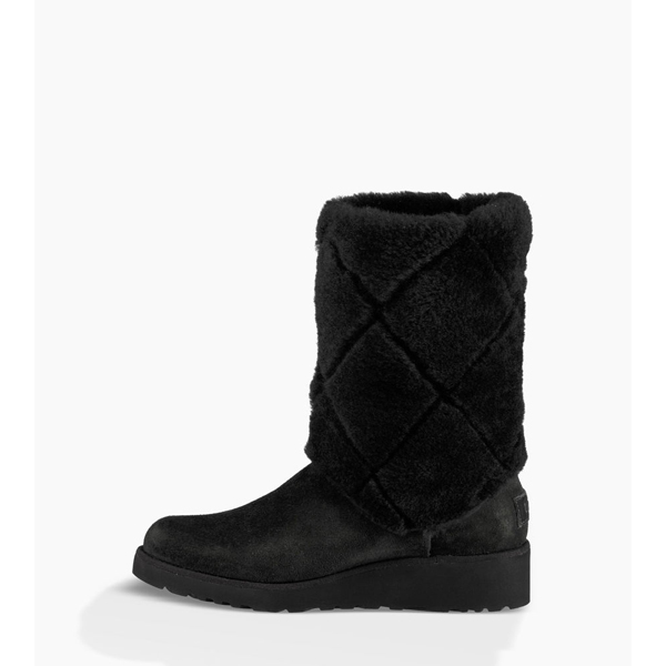 CHEAP UGG WOMEN\'S ARIELLA LUXE DIAMOND BLACK ONLINE