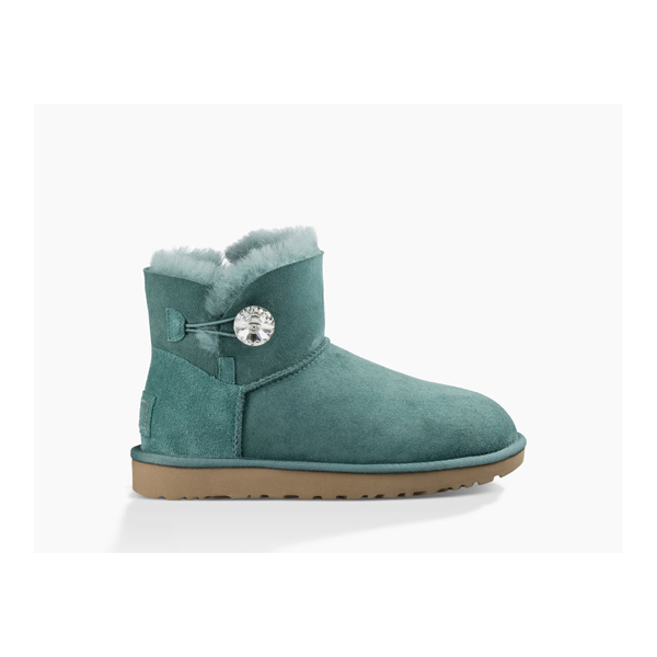 CHEAP UGG WOMEN'S MINI BAILEY BUTTON BLING ATLANTIC ONLINE