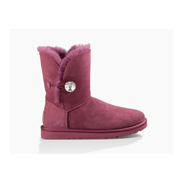 CHEAP UGG WOMEN'S BAILEY BUTTON BLING BOUGAINVILLEA ONLINE
