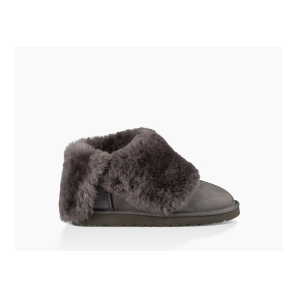 CHEAP UGG WOMEN\'S BAILEY BUTTON BLING  GREY ONLINE