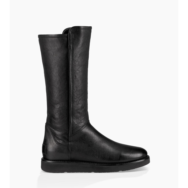 CHEAP UGG WOMEN'S ABREE II LEATHER NERO ONLINE