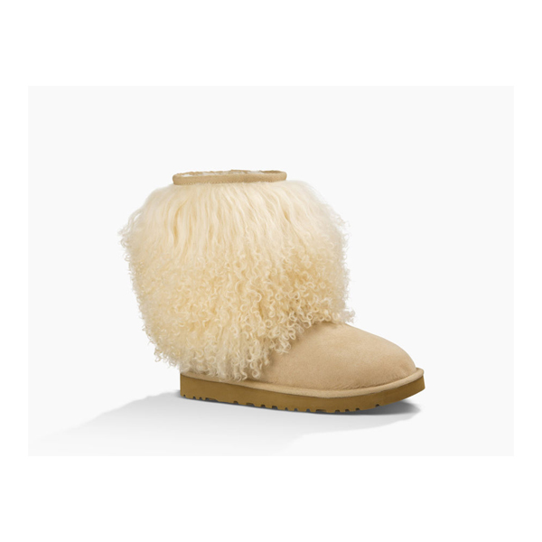 CHEAP UGG WOMEN'S SHORT SHEEPSKIN CUFF BOOT SAND/NATURAL ONLINE