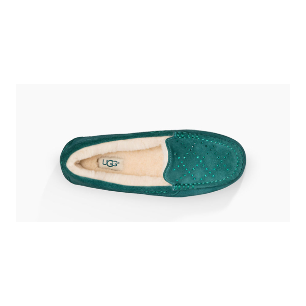 CHEAP UGG WOMEN\'S ANSLEY CRYSTAL DIAMOND EMERALD ONLINE