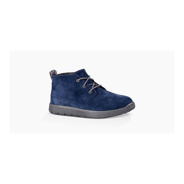 CHEAP UGG KIDS' CANOE SUEDE NEW NAVY ONLINE