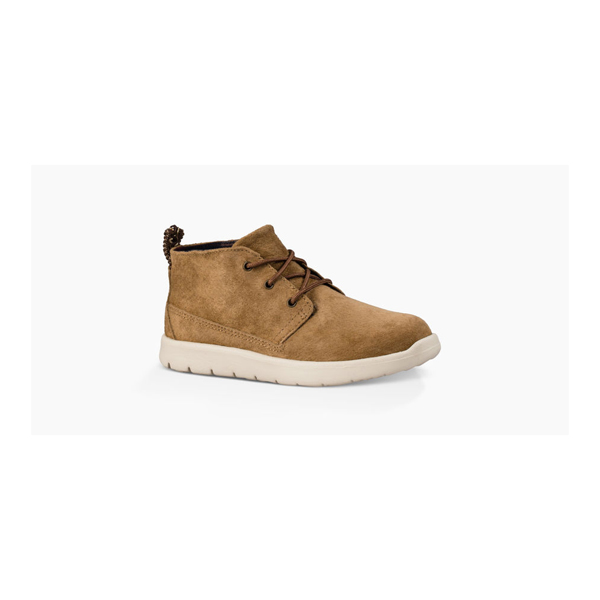 CHEAP UGG KIDS' CANOE SUEDE CHESTNUT ONLINE