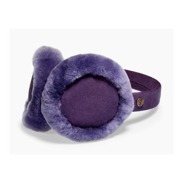 CHEAP UGG KIDS' CLASSIC SHEEPSKIN EARMUFF ELECTRIC PURPLE ONLINE