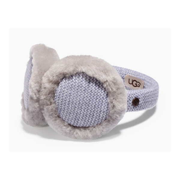 CHEAP UGG KIDS' KNIT EARMUFF GREY HEATHER M ONLINE